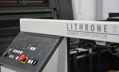 Komori 4-kleuren offsetpers
