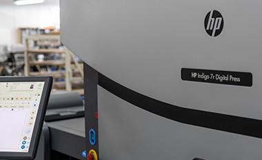 Dijkgraaf drukkerij HP Indigo digitale pers