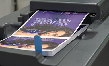 Dijkgraaf drukkerij printen op de HP Indigo