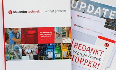 Dijkgraaf drukkerij drukwerk Hollander Techniek
