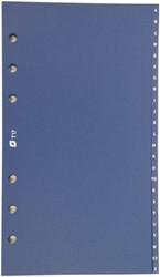 Alfabet Succes standard 24-delig blauw pvc XT17.