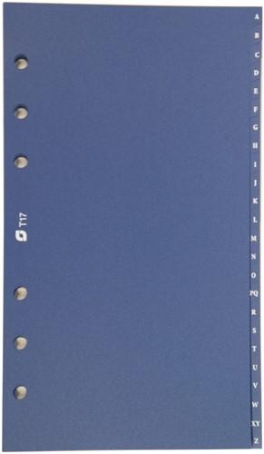 Tabbladen Succes Standaard A-Z  blauw XT17.