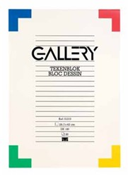 Tekenblok Gallery A3 180 grams 20 vel.