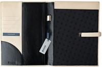 Schrijfmap Succes A4 Kyoto - omslag leder zwart PB052DK02.-2