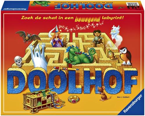 Spel Ravensburger Doolhof.