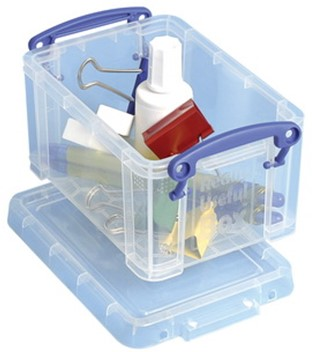 Opbergbox Really Useful inhoud 0.7 liter 155x100x80mm (lxbxh).