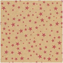 Kerstpapier apparaatrol 50cm Bronze dessin 072 ca. 200 meter.