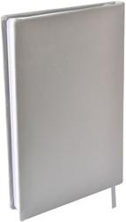 Rekbare boekenkaft Dresz A5 solid colours Grey..