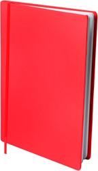 Rekbare boekenkaft Dresz A5 solid colours Red.