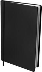 Rekbare boekenkaft Dresz A5 solid colours Black.