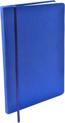Rekbare boekenkaft Dresz A5 solid colours Dark blue.