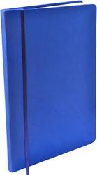 Rekbare boekenkaft Dresz XL solid colours Dark blue.