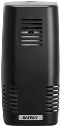 Luchtverfrisser Dispenser Katrin Easy zwart 192x94x80mm kunststof.