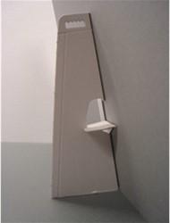 Standaard karton wit zelfklevend hoogte 13cm.