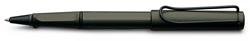 Lamy rollerball safari 317 zwart + vulling blauw uitwisbaar M63 medium.