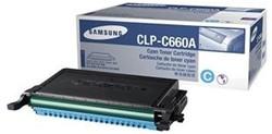 Toner Samsung CLP-C660A blauw.