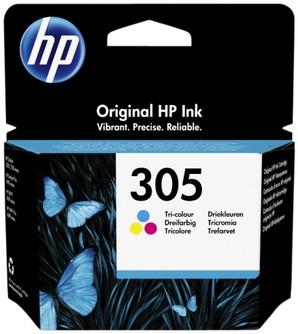 Inktcartridge HP 3YM60AE 305 kleur.