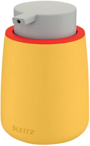 Zeepdispenser Leitz Cosy voor handzeep 300ml geel (54040019).