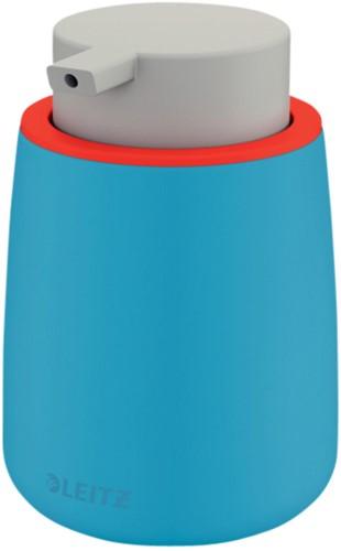 Zeepdispenser Leitz Cosy voor handzeep 300ml blauw (54040061).