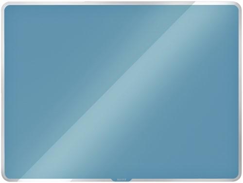 Glasbord Leitz Cosy magnetisch 600x400mm blauw (70420061).