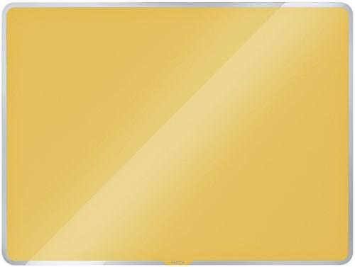 Glasbord Leitz Cosy magnetisch 600x400mm geel (70420019).