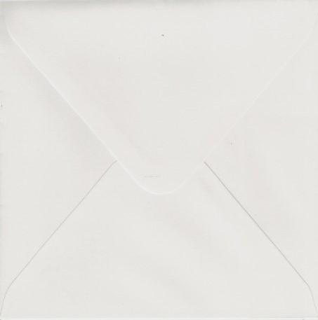 Bank envelop 140x140mm 120 grams wit 500 stuks 88099485.
