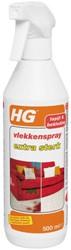 Vlekkenspray HG extra sterk 0.5 liter.