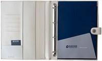 Schrijfmap Succes A4 Luxe Prestige - omslag leder wit PB148ES10.-2