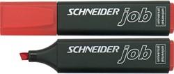 Markeerstift Schneider rood.