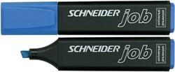 Markeerstift Schneider blauw.