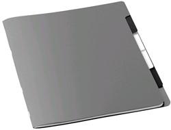Sorteermap Jalema Avanti sixtab A4 6-tabs karton zilver.