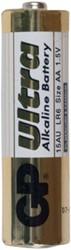 Batterij GP-15AU AA/LR6 1.5 volt 4 stuks.