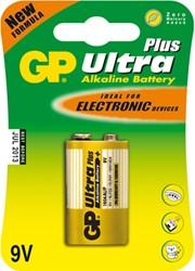 Batterij GP-1604AU alkaline 9 volt.