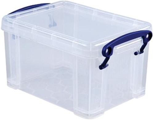 Opbergbox Really Useful inhoud 1.6 liter 195x135x110mm (lxbxh).