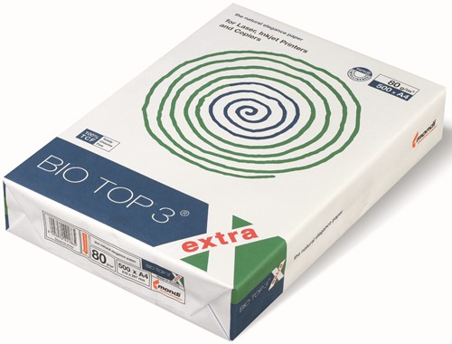 Papier Biotop 3 A4 80 grams Naturel 500 vel.