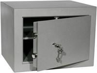 Privékluis model PT-1 afmeting buitenmaten (hxbxd) 330x450x380mm.kleur:grijs RAL 7035.-1