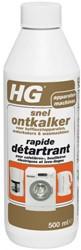 Snel ontkalker HG voor koffiezetapparaten, waterkokers en wasmachines 0.5 liter.