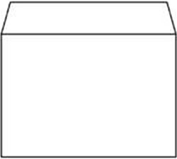 Bank envelop C6 114x162mm 80 grams wit zelfklevend 500 stuks.