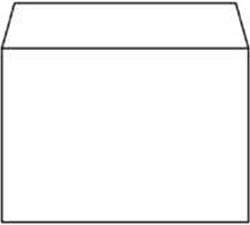 Bank envelop Superior C6 114x162mm 80 grams wit zelfklevend 500 stuks.