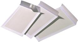 Bordrug envelop P185 185x280mm wit zelfklevend verpakt per doos van 100 stuks.