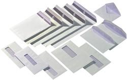 Venster envelop C4 229x324mm 120 grams wit zelfklevend met venster rechts 40x110mm 250 stuks.