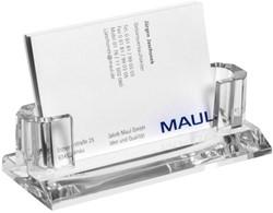 Visitenkaarthouder Maul acryl transparant.