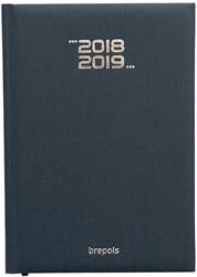 Agenda 2018/2019 Brepols Weekly Notebook Venezia 7 dagen op 1 pagina + notes 14,8x21cm 16 maanden vanaf 13 augustus 2018, creme papier.