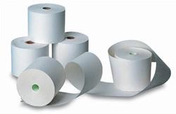 Kassarollen thermisch 76x70x12mm - 60 meter thermisch papier per kassarol - pak 5 rol.