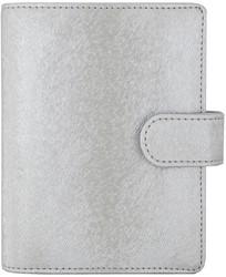 Agenda omslag Succes Junior model NewMe Star incl. inhoud 2018 7d/2pag - Kunstleer in de kleur Silver - mechaniek: 15mm OJ212ST18.17S.