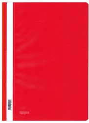 Snelhechter Kangaro kunststof A4 rood.