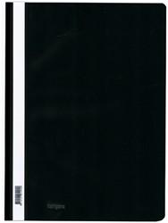 Snelhechter Kangaro kunststof A4 zwart.
