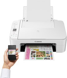 All-in-one inkjetprinter Canon Pixma TS3151 MFC A4 wifi wit.