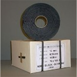 Omsnoeringsband 15mm x 1000m zwart.