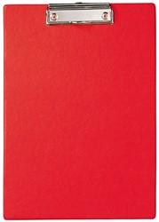 Klembord Maul A4 PP rood.